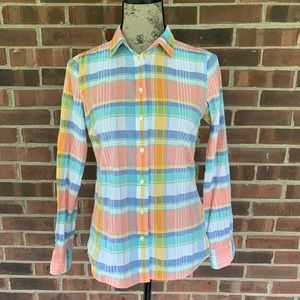 J. Crew factory classic button down shirt